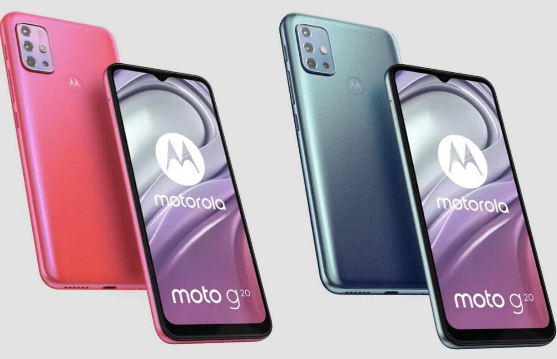 Motorola Moto G20 gelekt: dit moet je weten over de budgettelefoon