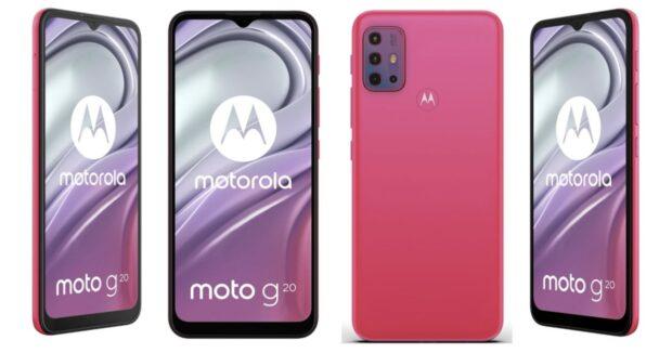 Motorola Moto G20