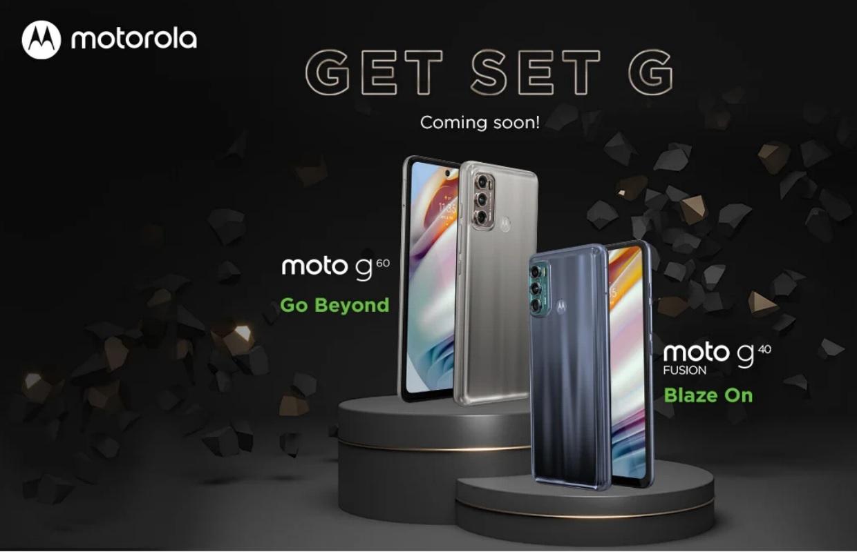 Motorola zelf toont design Moto G40 Fusion en Moto G60