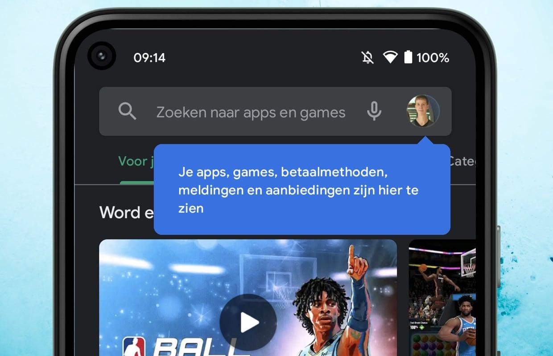 Google past Play Store-interface aan: dit is er veranderd
