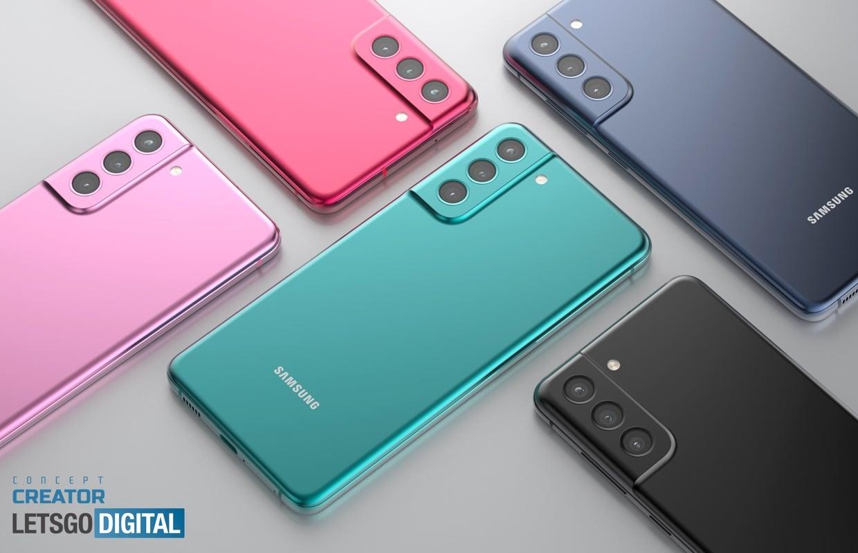 Zo ziet de Samsung Galaxy S21 FE er misschien uit