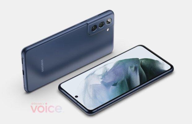Renders del Samsung Galaxy S21 FE