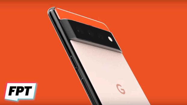 Google Pixel 6 render