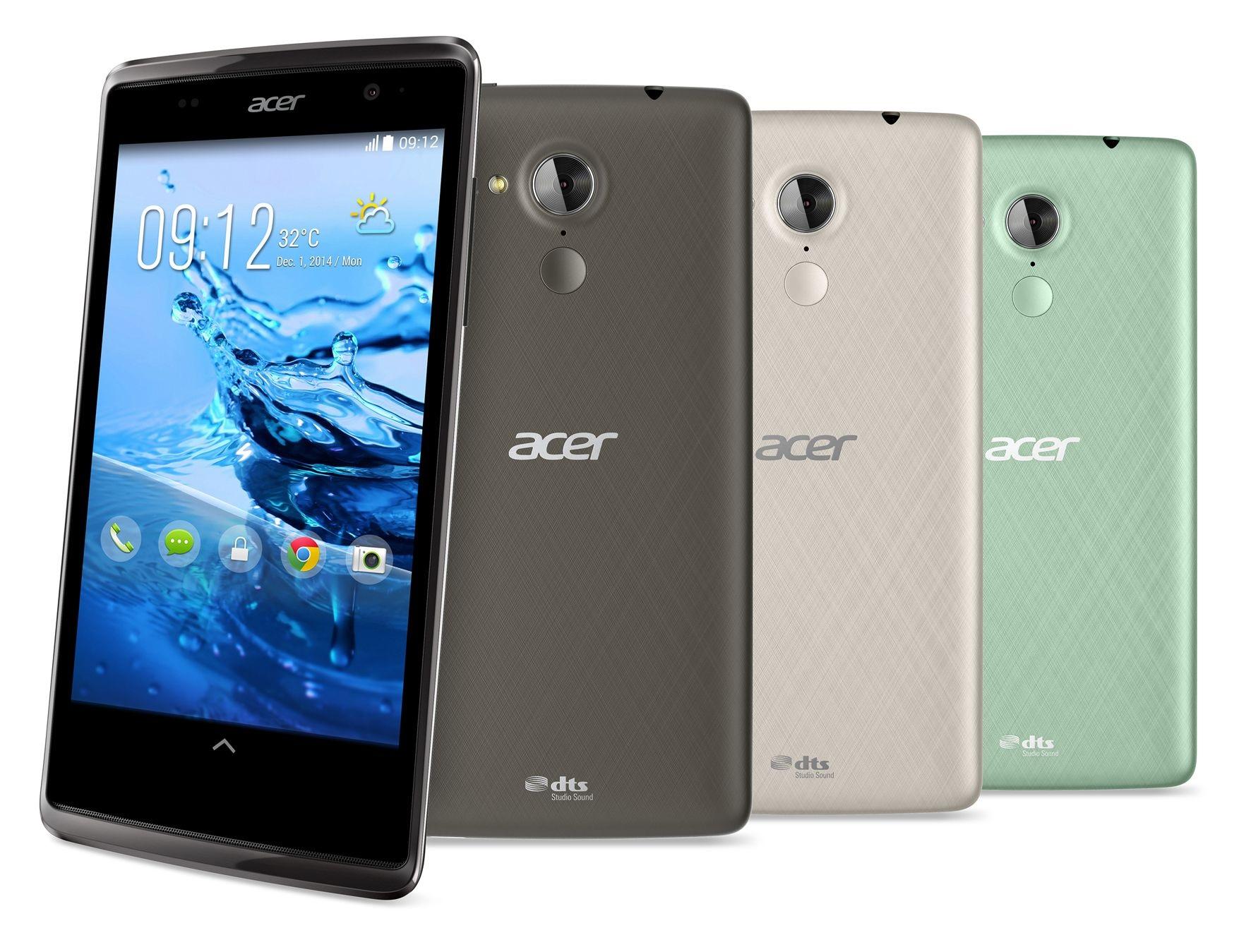 Acer en een handvol Androidsmartphones