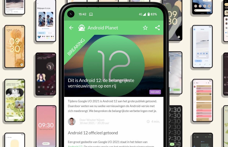 Het beste Android-nieuws: Android 12, Google I/O 2021 en meer
