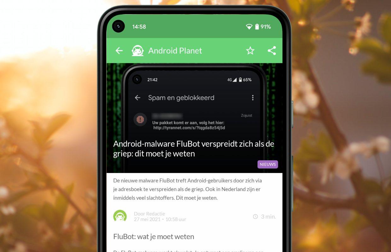 Het beste Android-nieuws: FluBot, OnePlus Nord CE en meer