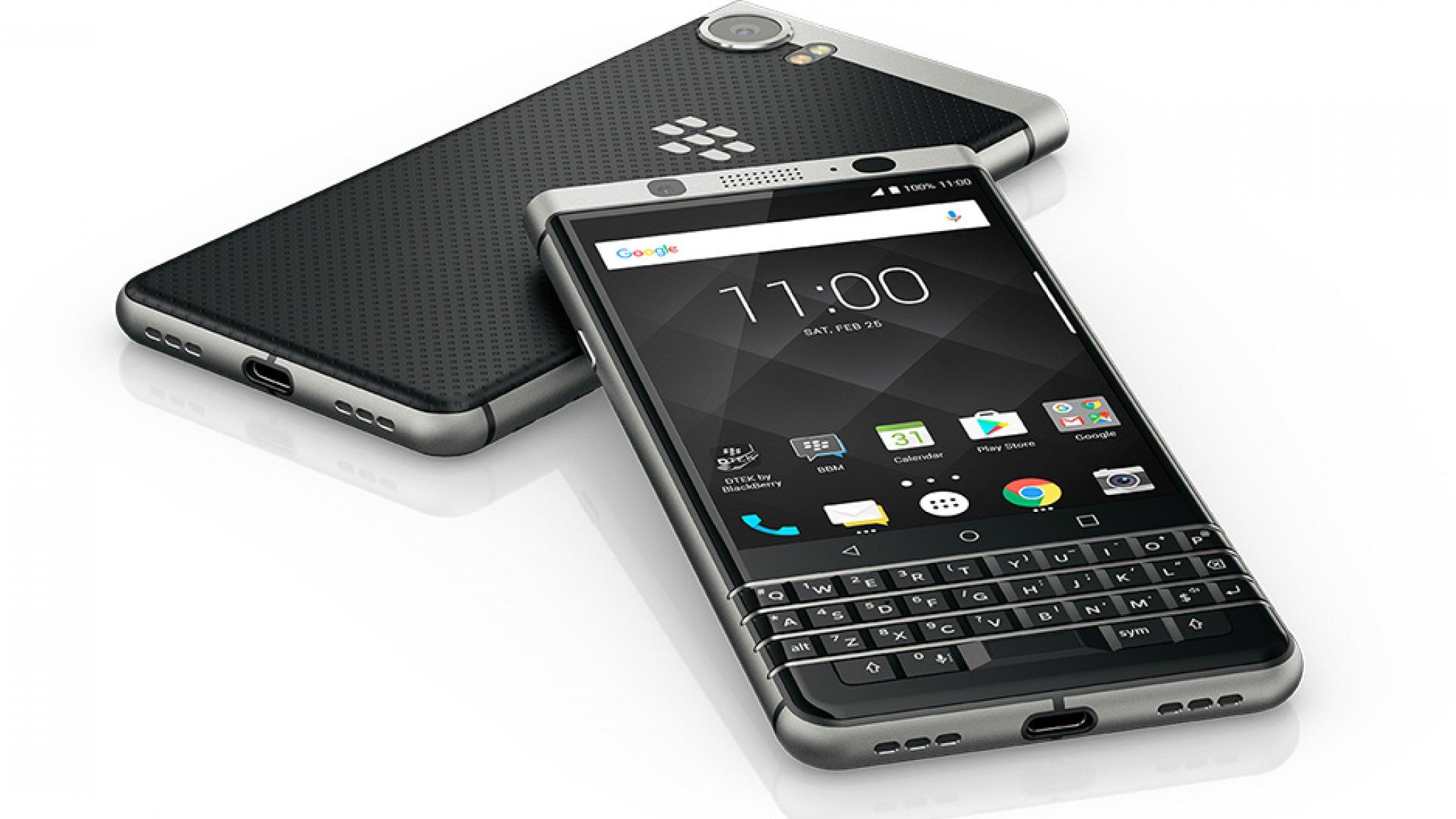 BlackBerry-toestellen met Android