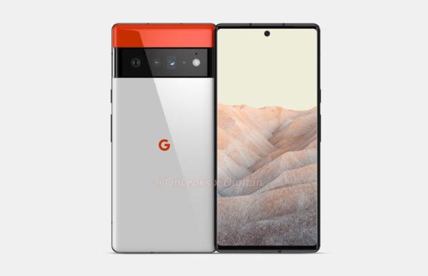 Google Pixel 6 Pro renders