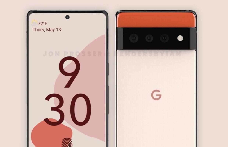 """""""Google Pixel 6 en Pixel 6 Pro krijgen radicaal nieuw ontwerp"""""""