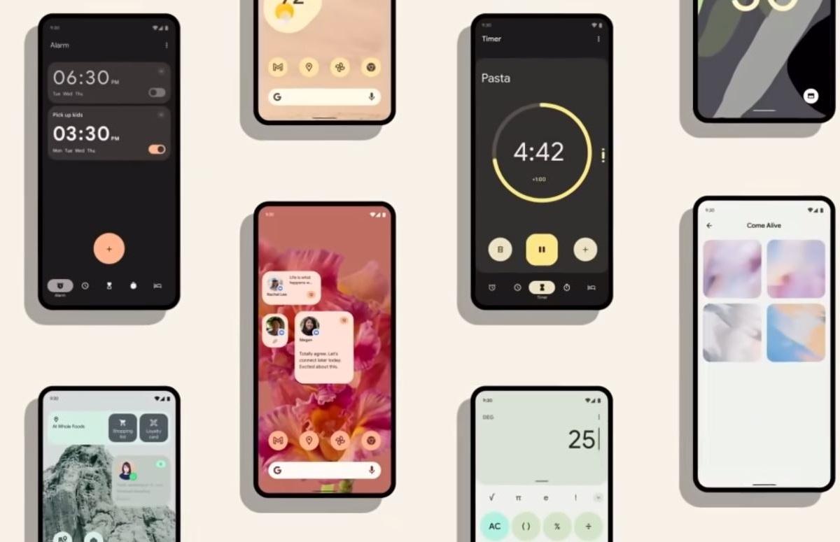 Material You: dit is het gloednieuwe Android 12-ontwerp