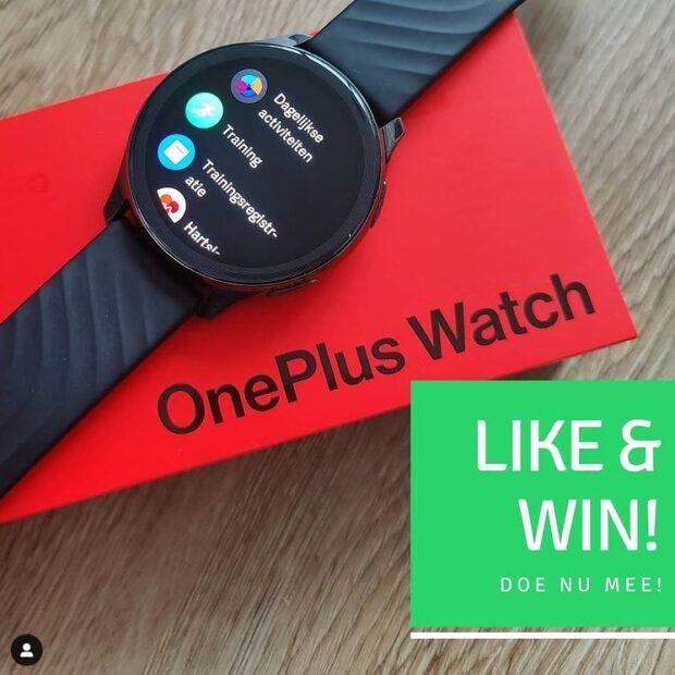 OnePlus Watch winactie