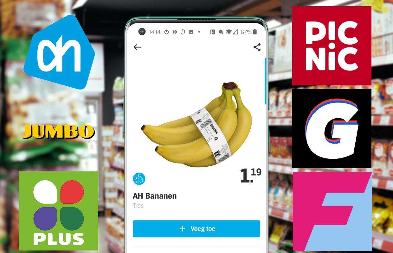 Online supermarkten: 6 apps om boodschappen thuis te laten bezorgen