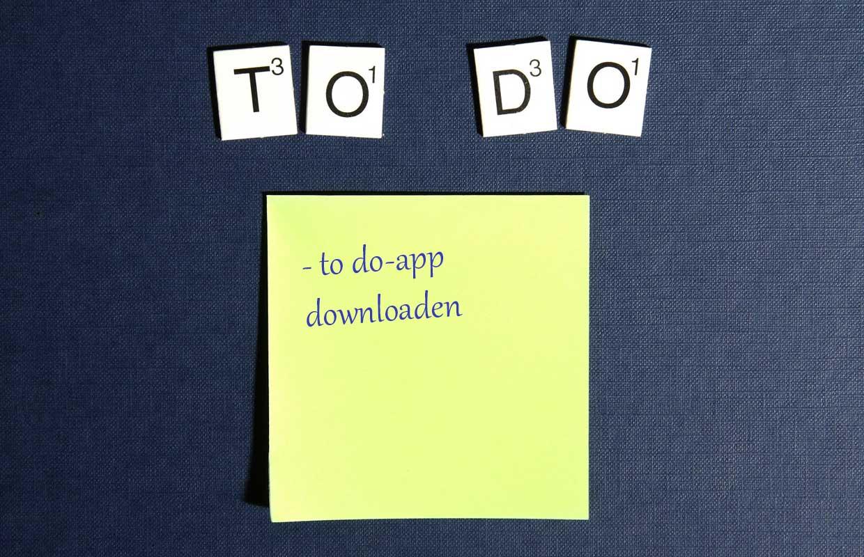 Column: Waarom je een takenlijst-app op je takenlijst moet zetten
