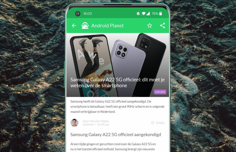 Het beste Android-nieuws: Samsung Galaxy A22, Spotify en Motorola