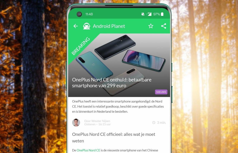 Het beste Android-nieuws: OnePlus Nord CE officieel en FaceTime naar Android