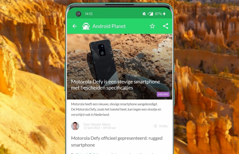 Het beste Android-nieuws: Samsung S22, Motorola Defy en Gmail-problemen