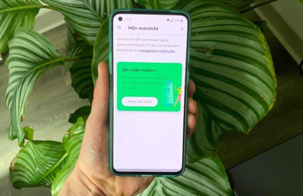 coronacheck app android uitgelicht qr code