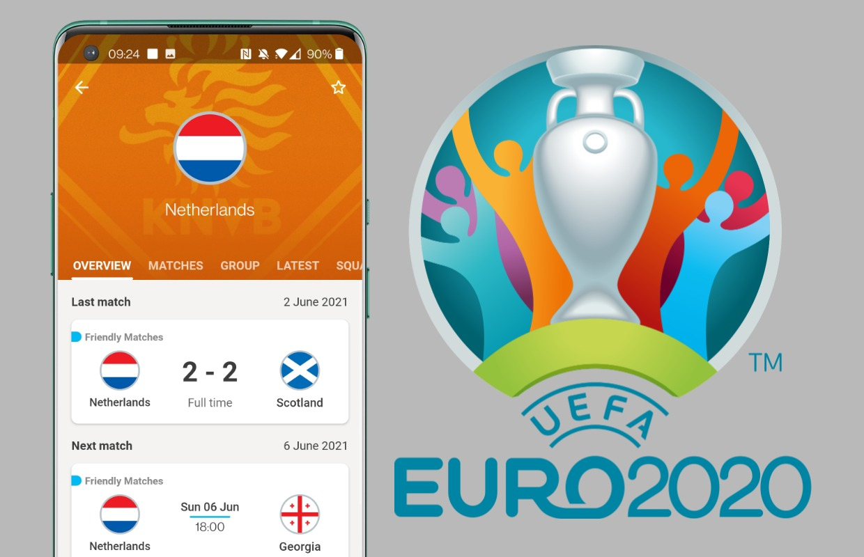 EK Voetbal 2021: Volg het speelschema en de uitslagen met deze apps