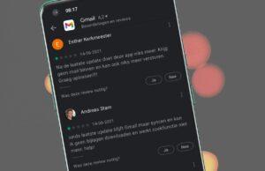 Gmail - Play Store reviews juni 2021