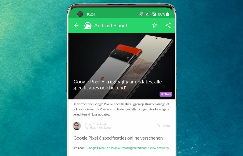 Het beste Android-nieuws: Google Pixel 6, OnePlus 9T en Sony Xperia 1 III
