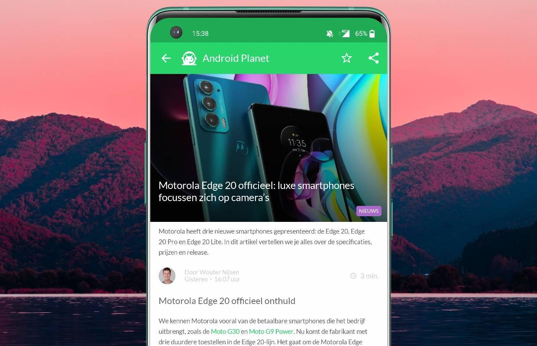 Het beste Android-nieuws: Motorola Edge 20, Huawei P50 officieel en meer