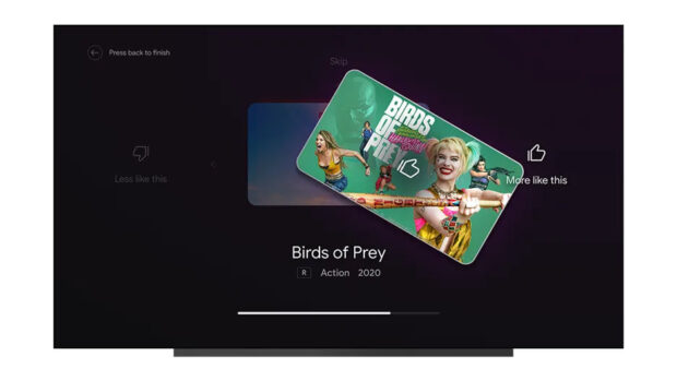 Android TV features