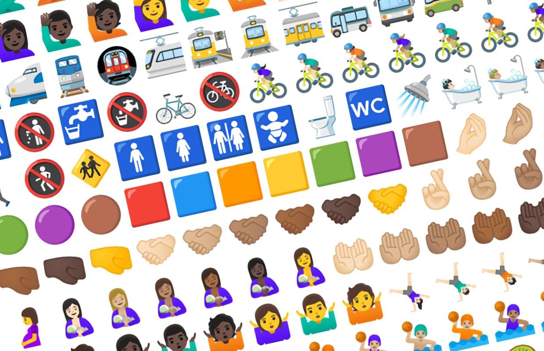 Google geeft emoji een make-over, en deze nieuwe emoji komen eraan