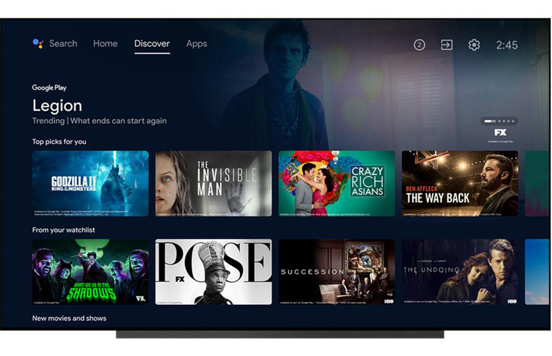 Google TV-app komt naar België, maar nog niet naar Nederland