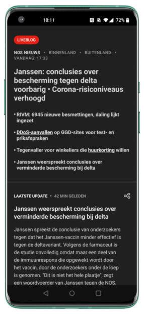 NOS-app review