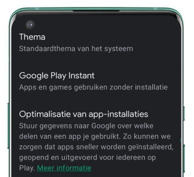 Optimalisatie van app-installaties