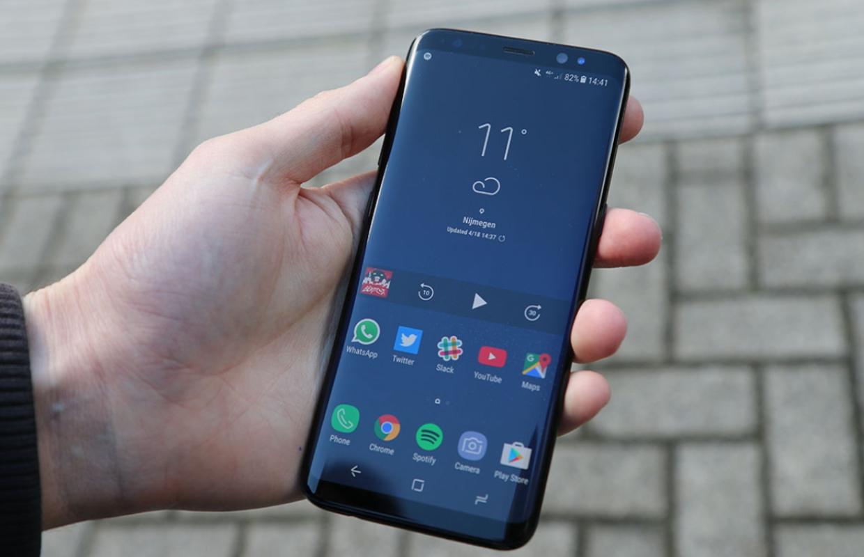 Samsung Galaxy S8 krijgt toch nog onverwachte update