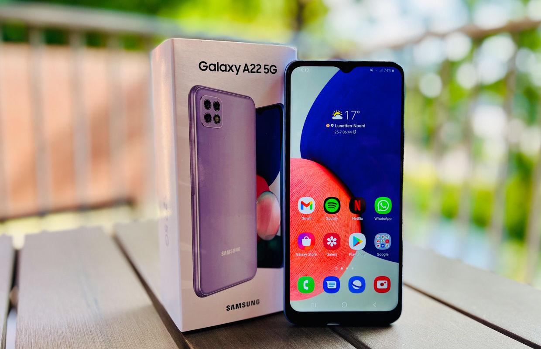Samsung Galaxy A22 5G review: 5G voor een prikkie