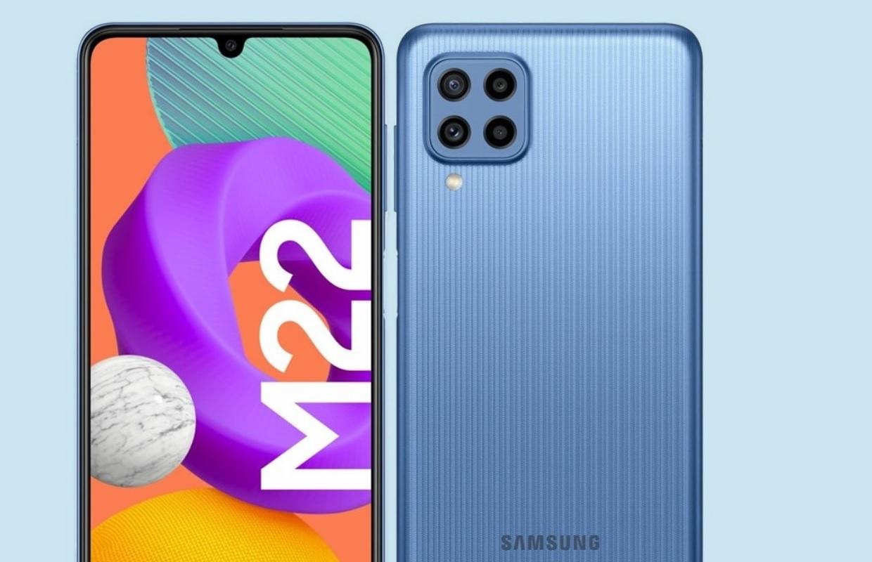 Gerucht: Samsung Galaxy M22 renders tonen toestel vanuit elke hoek
