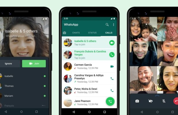 WhatsApp groepsgesprek