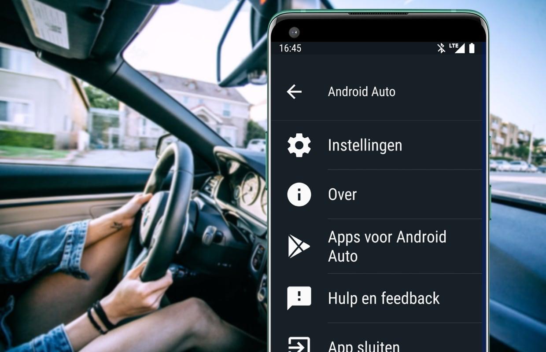 Android Auto voor smartphones-app verdwijnt in Android 12