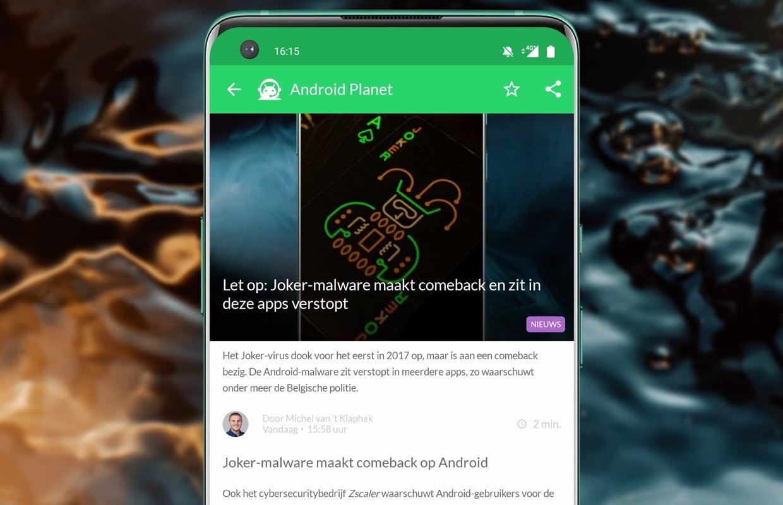 Het beste Android-nieuws: Nokia G50, Joker-malware en Fitbit