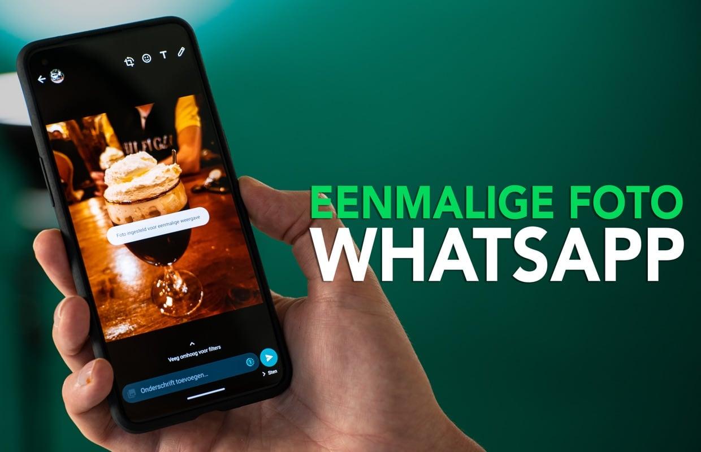 Video van de week: hoe kun je een WhatsApp-foto eenmalig sturen?