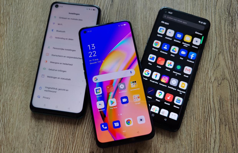 Oppo A-serie review: drie smartphones bieden veel van hetzelfde