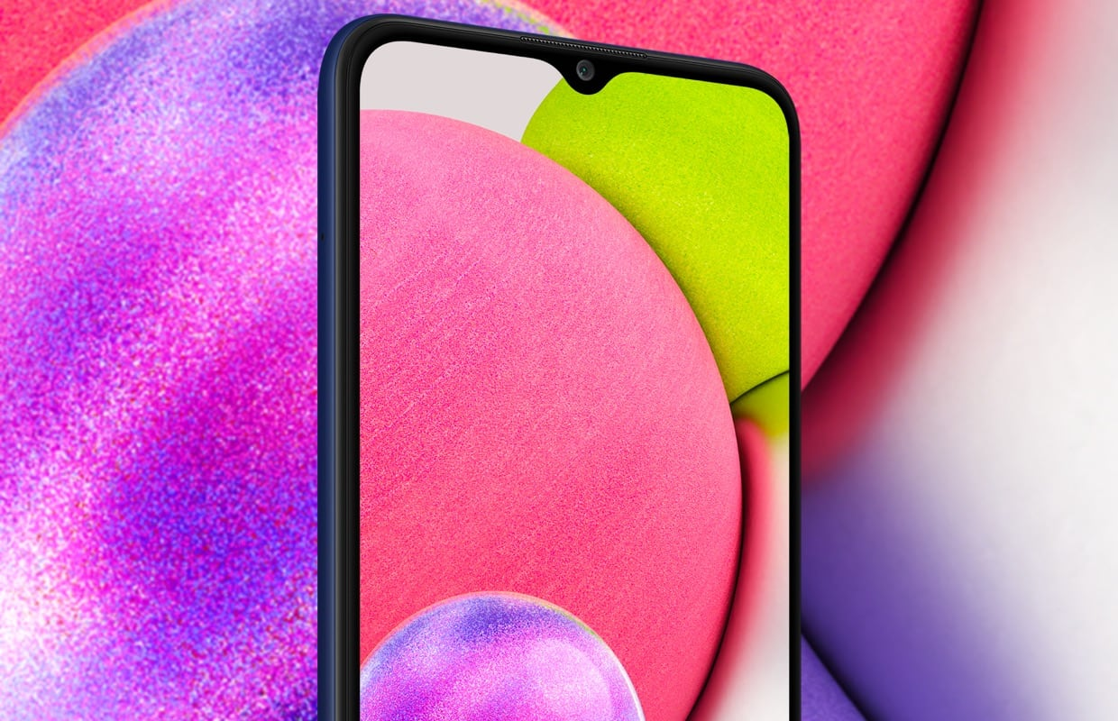 Samsung onthult goedkope Galaxy A03s met forse accu