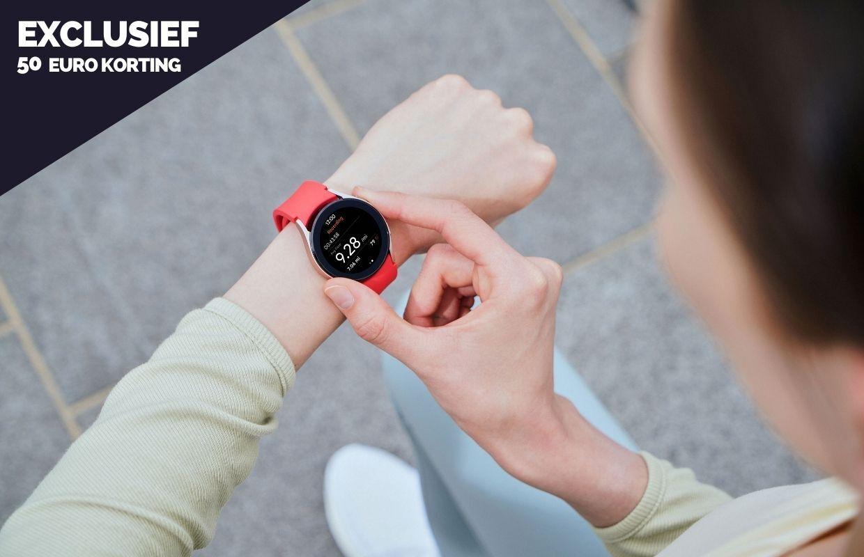 Exclusief: 50 euro korting op de Samsung Galaxy Watch 4 (Classic)