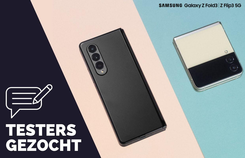 Test als een van de eersten de Samsung Galaxy Z Fold3 of Z Flip3 (ADV)