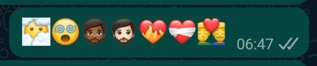 WhatsApp emoji v2.21.16.10