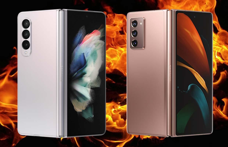Samsung Galaxy Z Fold 3 vs Fold 2: de 4 belangrijkste verschillen