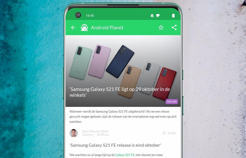 Het beste Android-nieuws: Xperia 5 III en waar blijft de Samsung S21 FE?