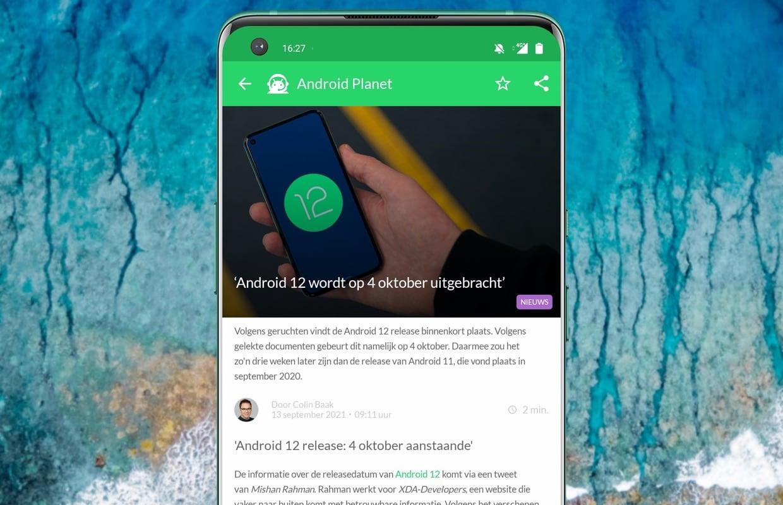 Het beste Android-nieuws: Android 12 in oktober en iPhone 13-alternatieven