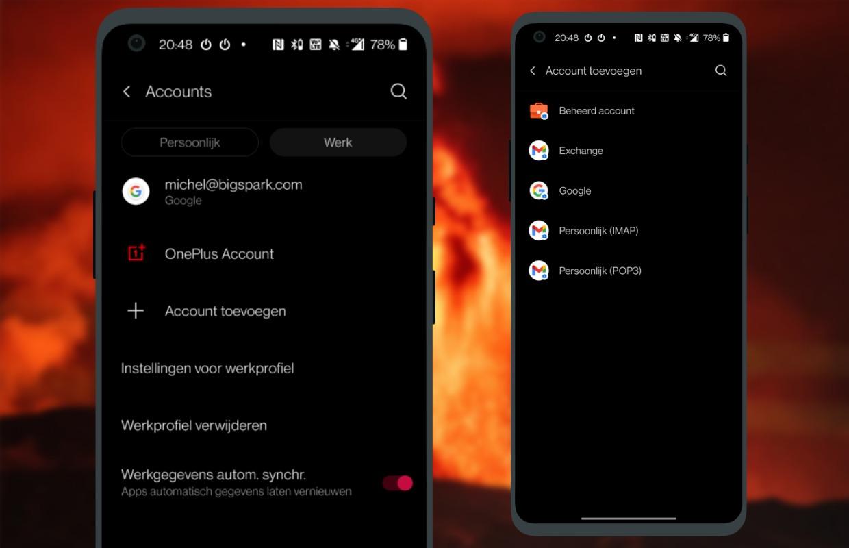 android werkprofiel 3