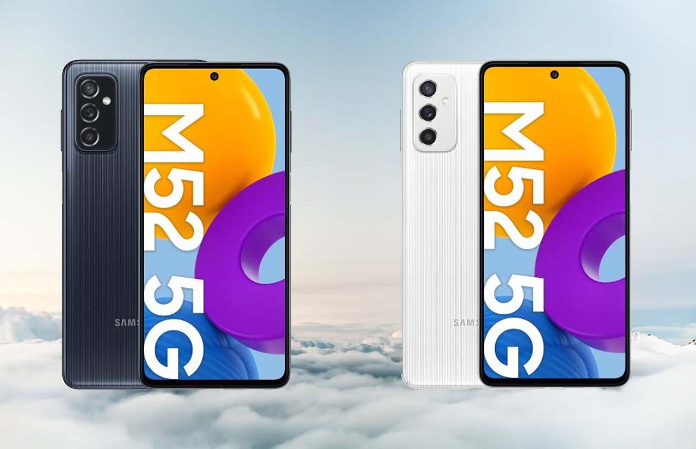 'Specificaties en prijzen van Samsung Galaxy M52 gelekt'