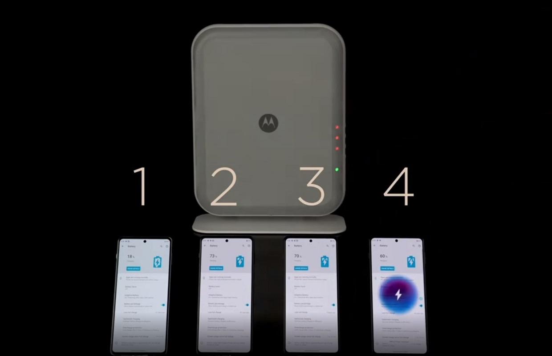 Zo wil Motorola je smartphone écht draadloos opladen