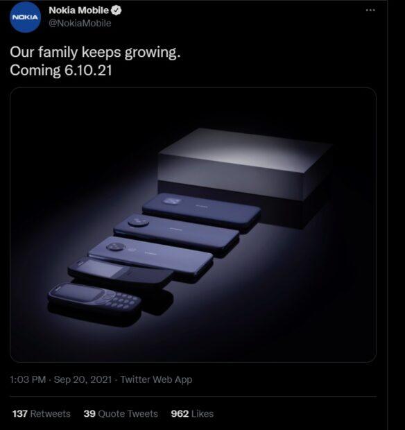 Nokia-tweet