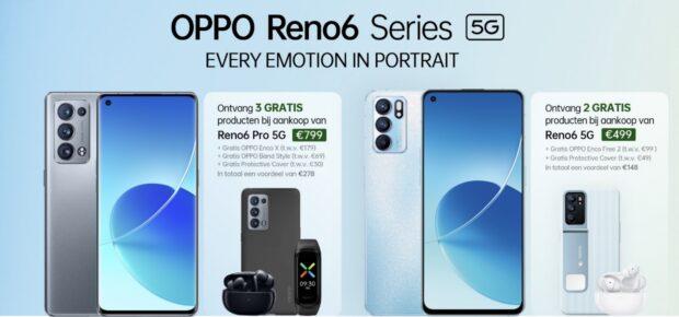 Oppo Reno 6 (Pro) pre-order